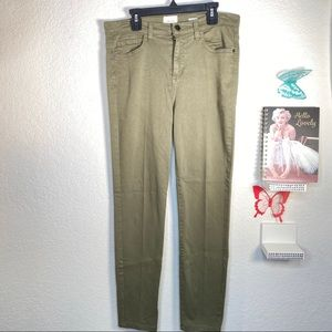 id:23 great stretch olive skinny jeans